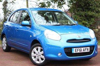 2011 NISSAN MICRA 1.2 ACENTA 5d 79 BHP £5250.00