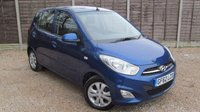 USED 2012 62 HYUNDAI I10 1.2 ACTIVE 5d 85 BHP Low Miles, FSH