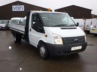 2012 FORD TRANSIT 2.2TDCi 350 Single Cab Dropside 125 BHP £12895.00