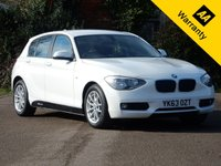 USED 2013 63 BMW 1 SERIES 1.6 116D EFFICIENTDYNAMICS 5d 114 BHP