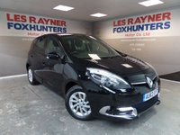 USED 2013 63 RENAULT SCENIC 1.5 DYNAMIQUE TOMTOM ENERGY DCI S/S 5d 110 BHP Full Service History , Cruise Control , Superb MPG