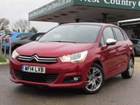 USED 2014 14 CITROEN C4 1.6 HDI SELECTION 5d 91 BHP Check out our 5* Reviews!