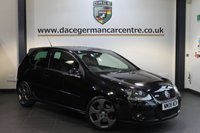 USED 2008 08 VOLKSWAGEN GOLF 2.0 GTI 3DR 197 BHP + SERVICE HISTORY + FULL BLACK LEATHER INTERIOR + HEATED RECARO WINGBACK SEATS + AUXILIARY PORT + HEATED MIRRORS + 18 INCH ALLOY WHEELS +