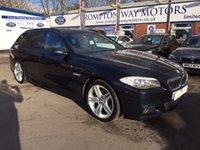 2012 BMW 5 SERIES 2.0 520D M SPORT TOURING 5d 181 BHP £16995.00