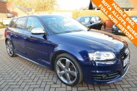 USED 2012 62 AUDI S3 2.0 S3 SPORTBACK TFSI QUATTRO BLACK EDITION 5d AUTO 265 BHP Free 12 Month National Warranty Included