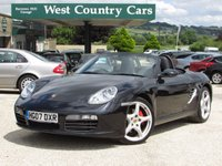 USED 2007 07 PORSCHE BOXSTER 3.4 24V S 2d 295 BHP Check out our 5* Reviews!
