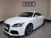 USED 2010 10 AUDI TT 2.5 RS TFSI QUATTRO 3d 340 BHP 1 Owner From New/18 In Alloys/Bose/Xenons/Park Sensors