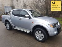 USED 2009 59 MITSUBISHI L200 2.5 4WD RAGING BULL DCB 1d 134 BHP HISTORY-LEATHER-CRUISE CONTROL