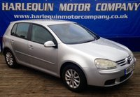 USED 2007 07 VOLKSWAGEN GOLF 1.9 MATCH TDI 5d 103 BHP METALLIC REFLEX SILVER GOLF 1.9 TDi MATCH,£130 A YEAR TAX,ALLOYS