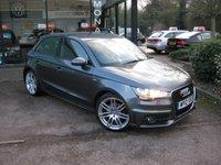 2012 AUDI A1 1.6 SPORTBACK TDI S LINE 5d 105 BHP £9990.00