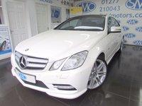 2012 MERCEDES-BENZ E CLASS 3.0 E350 CDI BLUEEFFICIENCY SPORT 2d AUTO 265 BHP £14995.00