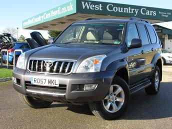 2007 TOYOTA LAND CRUISER 3.0 INVINCIBLE D-4D 5d AUTO 171 BHP £17000.00