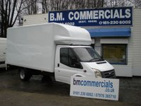 2009 FORD TRANSIT 2.4 350 E/F DRW 1d 100 BHP LUTON WITH TAIL LIFT £6895.00