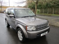 2010 LAND ROVER DISCOVERY 3.0 4 TDV6 GS 5d AUTO 245 BHP £16995.00
