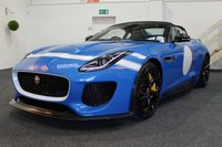 USED 2016 16 JAGUAR F-TYPE 5.0 PROJECT 7 2d AUTO 570 BHP **PROJECT 7-240 MILES**