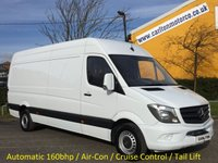 2014 MERCEDES-BENZ SPRINTER 316 CDI 163ps Lwb High Roof [ T/LIFT+A/Con ] Van Ex Lease Free UK Delivery £11950.00