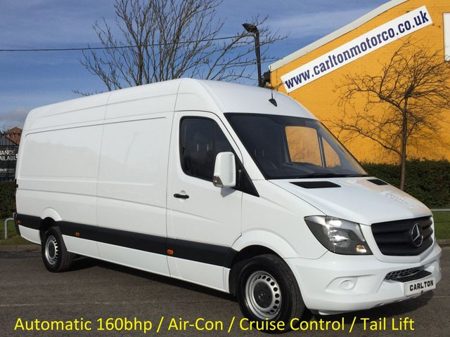 2014 14 MERCEDES-BENZ SPRINTER 316 CDI 163ps Lwb High Roof [ T/LIFT+A/Con ] Van Ex Lease Free UK Delivery