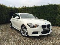 2013 BMW 1 SERIES 2.0 118D M SPORT 3d AUTO 141 BHP £13990.00