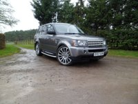 USED 2007 57 LAND ROVER RANGE ROVER SPORT 3.6 TDV8 SPORT HSE 5d AUTO 269 BHP NEW COMPRESSOR. 4 NEW TYRES STUNNING EXAMPLE