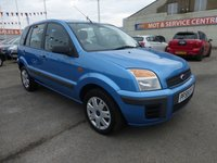 2009 FORD FUSION 1.4 STYLE PLUS 5d 80 BHP £3695.00