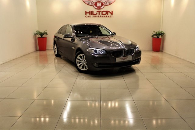 2012 62 BMW 5 SERIES 2.0 520D EFFICIENTDYNAMICS 4d 181 BHP
