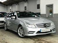 2012 MERCEDES-BENZ E CLASS 3.0 E350 CDI BLUEEFFICIENCY SPORT 2d AUTO 265 BHP £15750.00