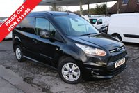 USED 2015 64 FORD TRANSIT CONNECT 1.6 200 LIMITED P/V 1d 115 BHP 3 Seater, Air Conditioning, Lovely Mileage, Heated Drivers Seat.