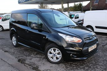2015 FORD TRANSIT CONNECT 1.6 200 LIMITED P/V 1d 115 BHP £12495.00