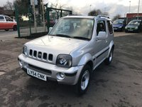 USED 2004 54 SUZUKI JIMNY 1.3 JLX MODE 3d AUTO 83 BHP Low Mileage, Automatic, Previous Lady Owner