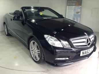 2012 MERCEDES-BENZ E CLASS 2.1 E220 CDI BLUEEFFICIENCY SPORT CONVERTIBLE 2d AUTO 170 BHP £17060.00