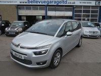 USED 2014 14 CITROEN C4 PICASSO 1.6 GRAND E-HDI AIRDREAM VTR PLUS 5d 113 BHP GREAT VALUE 7 SEATER!!!