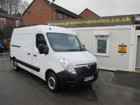 2013 VAUXHALL MOVANO 2.3 F3500 L2H2 CDTI  125BHP TWIN SIDE DOORS ALLOY RAMP IN REAR WITH ELECTRIC WINCH  SAT NAV AIR CON  £7700.00