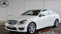 2014 MERCEDES-BENZ C CLASS C220CDi AMG SPORT EDITION (PREMIUM PACK) COUPE AUTO 168 BHP £18990.00