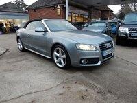 2011 AUDI A5 2.0 TDI S LINE 2d 168 BHP £12990.00