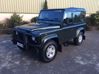2007 LAND ROVER DEFENDER 90 Hard top 2.4 TDCI 2 Seater £13950.00