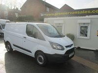 2013 FORD TRANSIT CUSTOM NEW SHAPE MODEL 2.2 TURBO DIESEL SIX SPEED CUSTOM MODEL  ONE OWNER FULL SERVICE HISTORY SPARE KEY   VERY CLEAN CONDITION  SOLD WITH WARRANTY  £8500.00