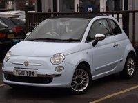 2010 FIAT 500 1.2 C LOUNGE 3d 69 BHP £5595.00