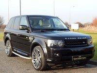 2013 LAND ROVER RANGE ROVER SPORT 3.0 SDV6 HSE BLACK 5d AUTO 255 BHP £26990.00
