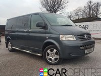 USED 2008 08 VOLKSWAGEN TRANSPORTER SHUTTLE 2.5 T30 SHUTTLE SE LWB 130TDI 5d AUTO 129 BHP 2 PREVIOUS OWNERS FULL SERVICE