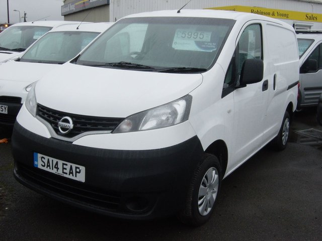 View our NISSAN NV200