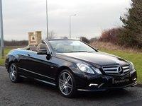 2011 MERCEDES-BENZ E CLASS 2.1 E220 CDI BLUEEFFICIENCY SPORT ED125 2d AUTO 170 BHP £14990.00