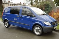 USED 2007 07 MERCEDES-BENZ VITO 2.1 109 CDI COMPACT SWB 1d 95 BHP