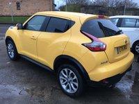 USED 2015 15 NISSAN JUKE 1.5 TEKNA DCI 5d 110 BHP Top of Range TEKNA in Sunlight Yellow