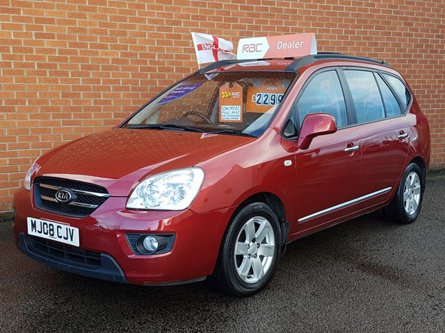 2008 08 KIA CARENS 2.0 GS 5d 142 BHP