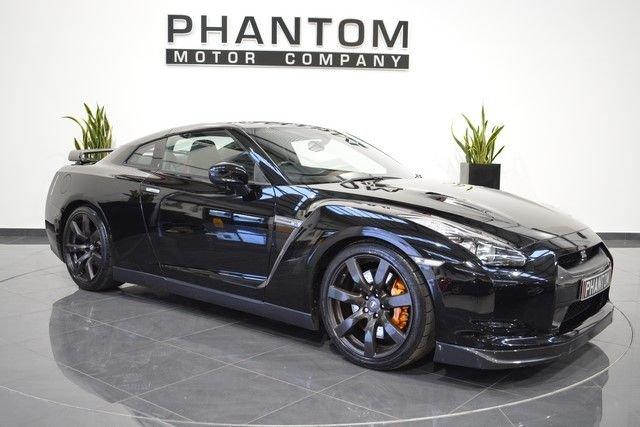 2009 09 NISSAN GT-R 3.8 BLACK EDITION 2d AUTO 479 BHP