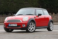 USED 2007 07 MINI HATCH COOPER 1.6 COOPER 3d 118 BHP Full Service History