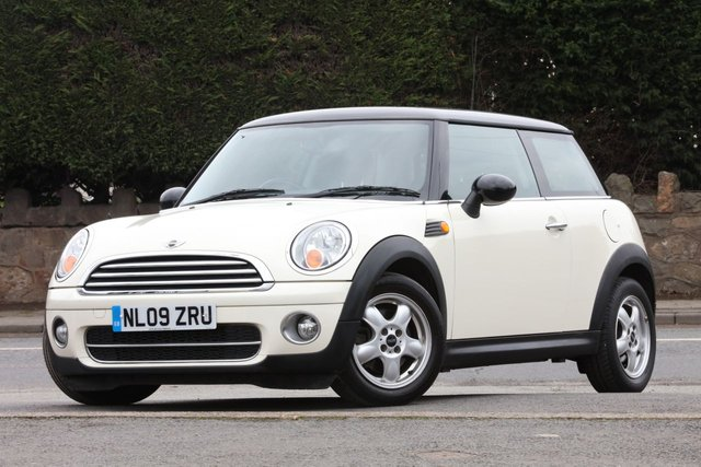 2009 09 MINI HATCH COOPER 1.6 COOPER D 3d 108 BHP
