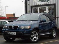 2003 BMW X5 2.9 D SPORT 5d AUTO 181 BHP £3995.00