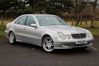 2002 MERCEDES-BENZ E CLASS 2.1 E220 CDI AVANTGARDE 4d AUTO 150 BHP £3480.00