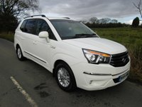 2015 SSANGYONG TURISMO 2.0 ES DIESEL 7 SEATER WITH BOOT SPACE £15995.00